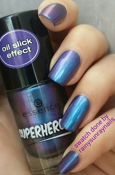 Inspirational photo by Kristin Day. Essence Cosmetics in Oil Slick from the Superheroes Collection.  @Bloom.com
