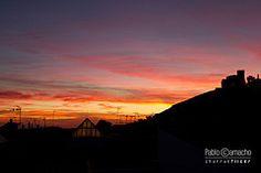 IMG_9702 (Churruk) Tags: azul atardecer rojo negro huelva sierra cielo nubes silueta casas naranja castillo antenas aracena vision:sunset=0934 vision:outdoor=0803 vision:sky=099 vision:clouds=0941
