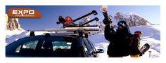¿Tu como te prepararás para temporada de nieve?  http://expoportaequipajes.cl/portaesquies.html