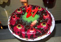 50 Best Zombie Birthday Cakes Ideas And Designs Zombie Birthday Cakes, Best Zombie, Good Enough To Eat, Cake Toppers, Happy Birthday, Pudding, Desserts, Food, Ideas