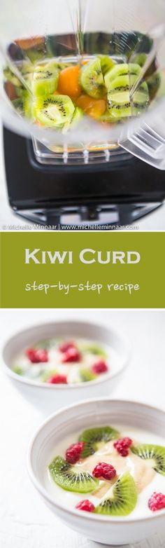 Kiwi Curd is not something you come across everyday but with a Froothie machine it's possible to make all kinds of fruit curds!