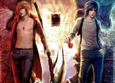Death Note chronicale -fixed- by sakimichan.deviantart.com on @deviantART