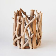 Point Reyes Driftwood Votive - Large