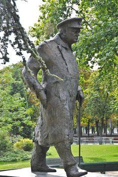 Winston Churchill Statue at the Petit Palais (Paris Fine Art Museum) Paris France | Flickr - Photo Sharing!