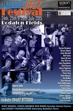 LLandudno Jazz Festival July 2015