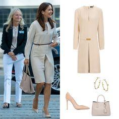 Danish Royal Family, Danish Royals, Crown Princess Mary, Business School, Royal Fashion, Copenhagen, Denmark, New Look, Police
