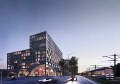 "Studioninedots Will Create a ""Super Space"" in Amsterdam,Courtesy of Studioninedots 