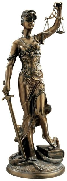 Themis, Goddess of Justice Statue