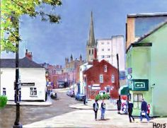 Wakefield, West Yorkshire, Street View, City, Cities
