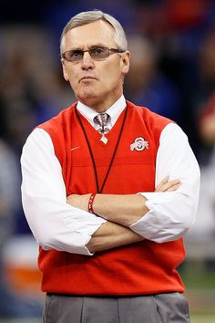 Best college football coach of all time...Jim Tressel.