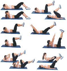 Первый комплекс упражнений на верхний пресс http://www.dietplans10.com/kak-ubrat-niz-givota-bistro-i-effektivno/