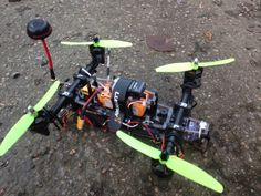 TDR_250_V_9.3 Drone prototype, out in the Urban envirement ...!