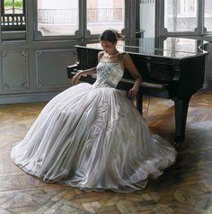 Elegance. Desire. Dance. Hyperrealistic Paintings by Rob Hefferan