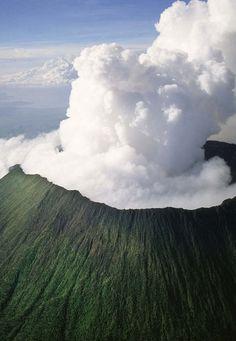 Mount Nyiragongo, Congo, Africa                                                                                                                                                     More