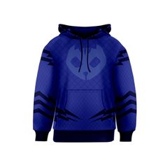 PJ Masks Catboy Kid's Hooded Pullover Sweatshirt Kid's Pullover Hoodie - Designed by Rocket Mommy (www.rocketmommy.com)