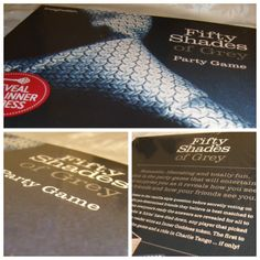 Fifty Shades of Grey Adult Party Game  http://www.ebay.co.uk/itm/271341876152?ssPageName=STRK:MESELX:IT&_trksid=p3984.m1555.l2649#ht_118wt_1170