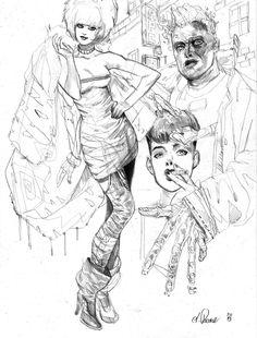 pris roy rachael by AlexPascenko.deviantart.com on @deviantART