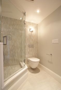 Commercial Wharf Condo, Boston, MA - modern - bathroom - boston - Serret Construction and Design