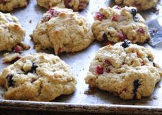 Summer Berry Drop Scones - just add your favorite berries and drop 'em right on the pan!