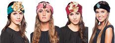 tocados y turbantes disponibles para alquilar en www.lamasmona.com