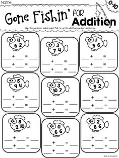 Addition Word Problems Within Five {Kindergarten Reading