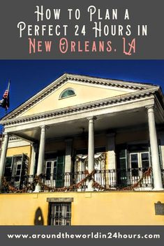 Do you want to spend 24 hours in New Orleans, Louisiana? Then come out to the Faubourg Marigny! We've got drag brunch, walking tours, and great restaurants! #neworleans #nola