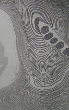 suminagashi study by dancing grey studio
