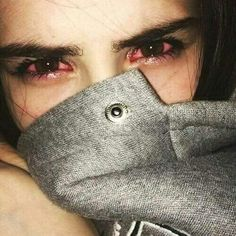 Red eyes, girl, get high, smoke weed, stoner