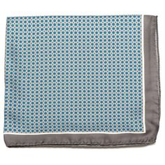 "A hand sewn ""Gray Medallion Italian Silk Pocket Square"" is very sophisticated for a special occasion. Click here! http://www.arturbane.com/collections/pocket-squares/products/gray-medallion-italian-silk-pocket-square #fashion #men #style $55"