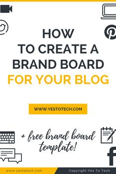 Discover how to create your own unique brand board for your online business by customizing the 5 essential brand elements so that they're exclusive to you. Brand Identity Design, Identity Branding, Branding Design, Logo Design, Design Web, Website Logo, Branding Website, Brand Board, Pinterest For Business