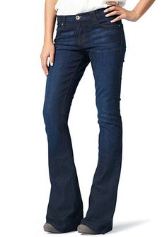 Alloy.com: Truck Jeans Stretch Flare Jean, plus size available cute!