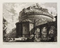 View of the Castel Sant'Angelo.