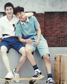 ♥ Suho & Chen   Exo
