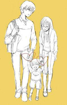 Karma x okuda and son Me Me Me Anime, Anime Love, Okuda, Anime Family, Manga Couple, Anime Ships, Akatsuki, Shoujo, Assassin