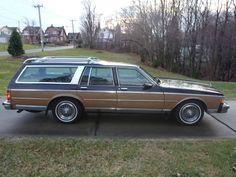 1984 Chevrolet Caprice Estate Wagon The Grand Chevrolet