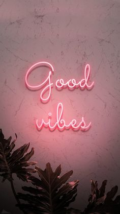 Neon red good vibes on a wall premium image by nam Lexi Fletcher Collage Mural, Bedroom Wall Collage, Photo Wall Collage, Picture Wall, Aesthetic Pastel Wallpaper, Pink Wallpaper, Aesthetic Wallpapers, Good Vibes Wallpaper, Neon Light Wallpaper
