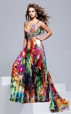 another butterfly one | Animal Print Prom Dresses | Pinterest ...