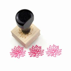 Lotus flower and leaf stamp set hand carved rubber stamp eraser lotus flower and leaf stamp set hand carved rubber stamp eraser carving pinterest lotus flower hand carved and lotus mightylinksfo