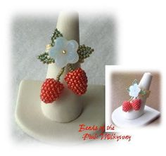 strawberry ring by Maiko Kage