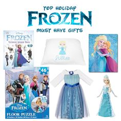"""A Very """"Frozen"""" Holiday Season- Top 17 Frozen themed Gifts!"""