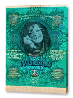 New World Money Janis Graphic Art on Wrapped Canvas