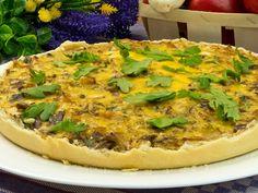 Tartă cu varză și ciuperci – o rețetă gustoasă, perfectă pentru orice masă! Orice, Vegetable Pizza, Vegetables, Breakfast, Food, Pie, Morning Coffee, Essen, Vegetable Recipes