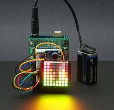 Wiring | Tiny Arduino Music Visualizer | Adafruit Learning System