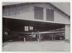 Vliegveld Andir van de Nederlands-Indische Luchtvaart Maatschappij, Bandung, Java, Indonesië (1919-1930)