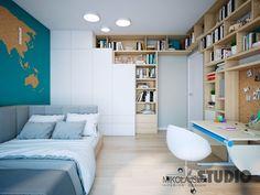 Study Room Design, Kids Room Design, Girl Bedroom Designs, Kids Bedroom, Teenage Room, Little Girl Rooms, Apartment Interior, Kid Beds, Luxurious Bedrooms