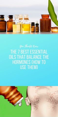 The 7 Best Essential Oils That Balance the Hormone. - The 7 Best Essential Oils That Balance the Hormones (How to Use Them) - Natural Health Remedies, Natural Cures, Good Healthy Recipes, Healthy Life, Health And Beauty Tips, Health Tips, Training Fitness, Wellness Fitness, Best Essential Oils