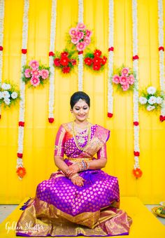 """Honestly, when bride Sirisha sent in her pictures, we forgot to breathe for a moment! Such was the splendour of the photographs! Edward and Harsha Reddy have worked magic on the already beautiful bride with their make up and photographs!! Here's her story! Our love Story: """"10 years"""" is a long time for a person in their 20's, it represents almost half their life and that's how long we have known each other since. We have seen many ..."""