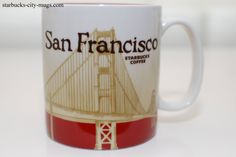 CALIFORNIA ICONS   Starbucks City Mugs