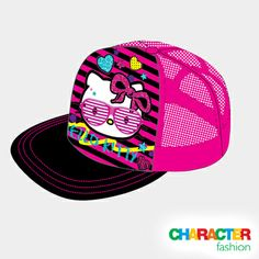 #CharacterFashion Hello Kitty Trucker Cap Gifts For Kids, Great Gifts, Character Group, Funky Fashion, Gift Vouchers, Hello Kitty, Fashion Accessories, Cap, My Love