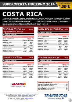 COSTA RICA ¡Oferta Invierno: salidas diarias Enero a Abril! desde varias ciudades: desde 1.084€ ultimo minuto - http://zocotours.com/costa-rica-oferta-invierno-salidas-diarias-enero-a-abril-desde-varias-ciudades-desde-1-084e-ultimo-minuto/
